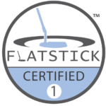 Flatstick Cert logo